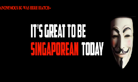 Singapore Prime Minister: We Will Track Anonymous Down, In return Anonymous Hacks His Official Website
