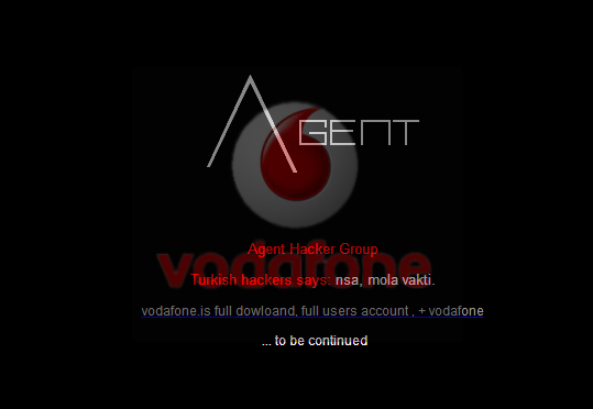 Turkish Hackers Hacks official Vodafone Iceland website, leaks 77,000 accounts and SMS logs