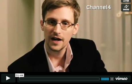 Edward Snowden Has A Christmas Message For You