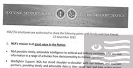 NSA's talking points for friends and family — rebutted
