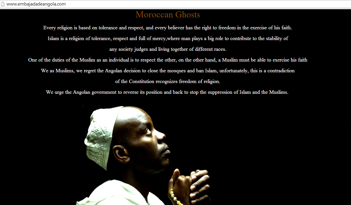 opangola-moroccan-ghosts-hacks-embassy-of-angola-in-spain-website-against-banning-islam