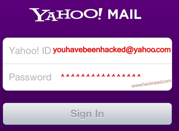 Yahoo! Mail hacked, passwords and user information stolen