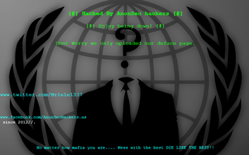 720 websites hacked and defaced by AnonSec hackers