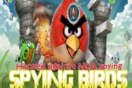Anti-NSA hacker hacks and defaces official Angry Birds website against NSA spying scandal