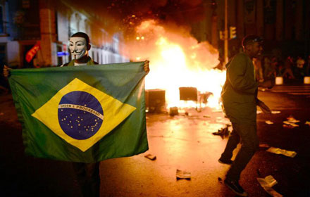 Brazil: São Paulo State Government's Press Department Email Hacked by Anonymous