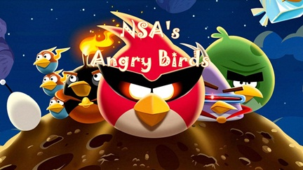Snowden Leaks: NSA and British Agency is Spying on You via Angry Birds Game App