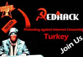 RedHack Hactivists Join hands with activists for a protest against Internet Censorship Laws in Turkey