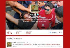 LulzSec Peru hacks Twitter account of Venezuela's Ruling Party against Twitter Cencorship