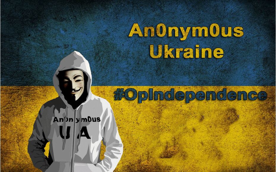 Anonymous Declares Cyberwar on Countries Found Disturbing Peace in Ukraine