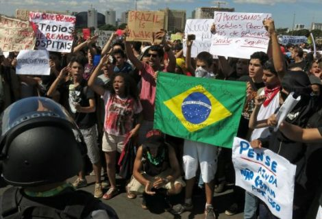 Brazil is spying on social media accounts of protesters, hoping to protect World Cup