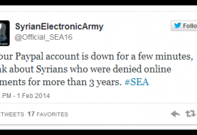 Ebay and Paypal hacked by Syrian Electronic Army for not providing services in Syria
