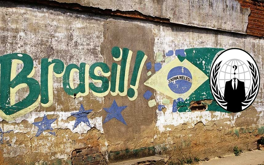 #OpWorldCup: Anonymous Hacks Brazilian Govt, Police, Court, Globo TV and Cemig Telecom