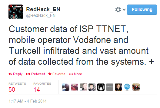 redhack-hacks-isp-ttnet-vodafone-and-turkcell-leaks-data-of-govt-officials-against-death-of-a-gezi-protester-2