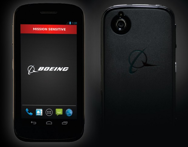 Boeing announce self-destructing black phone for government agencies