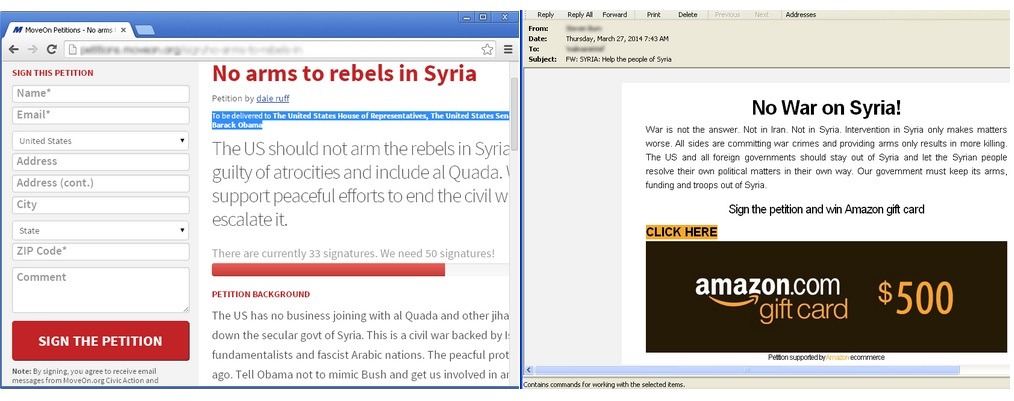 Fake-No-War-on-Syria-Petitions-Used-by-Spammers-to-Harvest-Information-1
