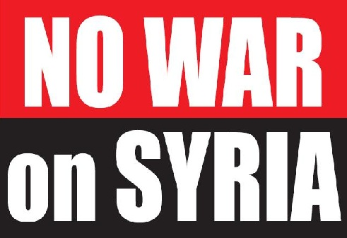 "Spammers using ""No War on Syria"" petitions to steal personal information"