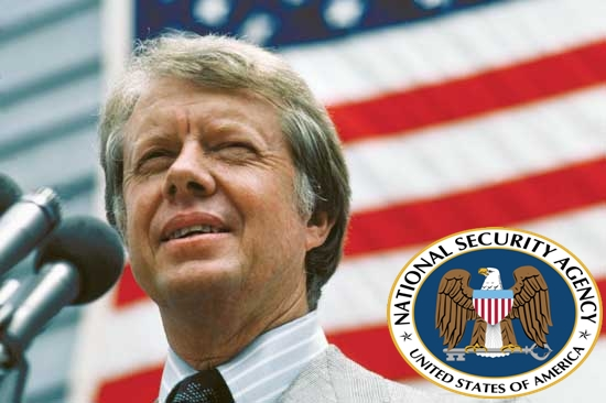 Jimmy Carter Believes the NSA Spies on Him