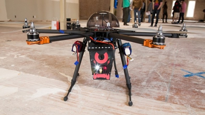 App Controlled Drone That Will Shoot You With an 80,000 Volt Taser (Video Added)