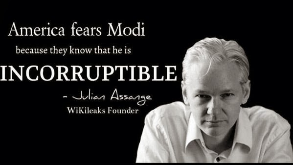 This is the images which went viral and now been deleted after denial by WikiLeaks