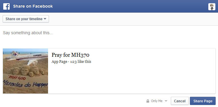 That is how it's preview on Facebook looks like