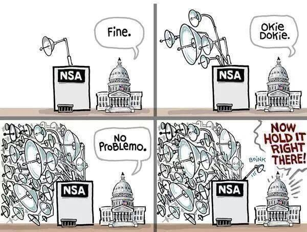 Hypocrisy of Sen. Feinstein and White House over spying best defined in one meme