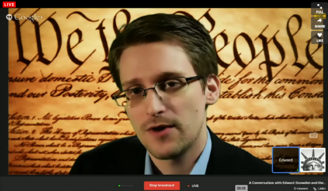 "Snowden at SXSW Conference: They're ""setting fire to the future of the Internet"""