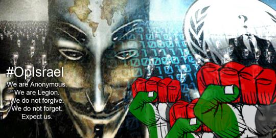 #OpIsrael: Israeli Ministry of Agriculture Domain Hacked, 100+ other crushed down by Anonymous