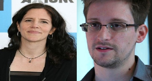 Edward Snowden and journalist Laura Poitras Win Truth-Telling Award