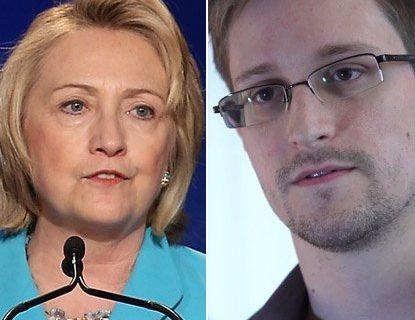 Edward Snowden's Leaks Helped Terrorists: Hillary Clinton