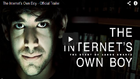 Watch Powerful Trailer For The Aaron Swartz Documentary: The Internet's Own Boy
