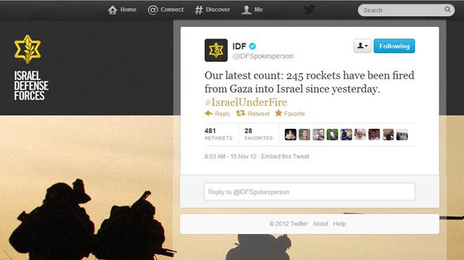 IDF-v-Hamas-on-Twitter