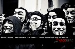 Massive Cyber Attack: Anonymous takes down top Israeli Govt websites for Gaza