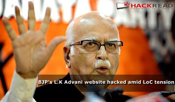 pakistani-hacker-hacks-indian-ruling-partys-politician-l-k-advani-website