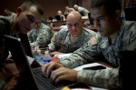 Fort Gordon, Ga., hosted a multiservice cyber exercise in June that included active-duty, National Guard and reserve troops. (Staff Sgt. Tracy J. Smith/Army