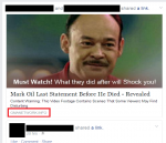 Fake 'Last Words of Celebrity' Facebook Scam Installs Malware on PC