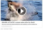 'Naked Woman Eaten by Shark' Video Scam on Facebook Installs Malware on PC.