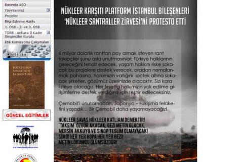 RedHack hacks Ankara Chamber of Industry website against Nuclear Summit