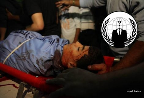 Anonymous Shuts Down Top Israeli Govt Sites Against Killing Of 14-Yr-Old Kid