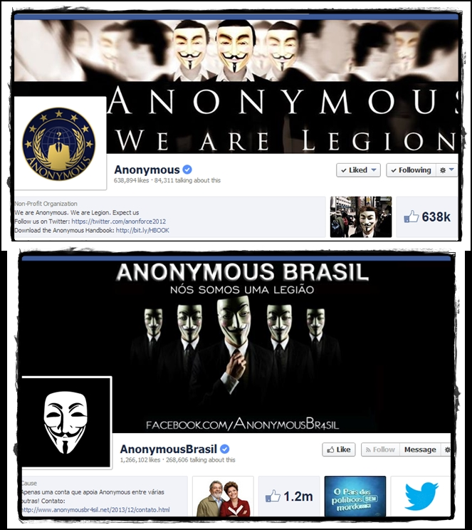 Two Big Anonymous Hacktivist Pages on Facebook get Verified Badges