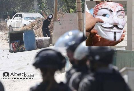 Anonymous hackers take down Mossad website against Gaza attacks