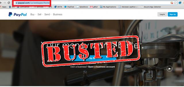 Crackdown: Fake PayPal lookalike phishing websites taken offline