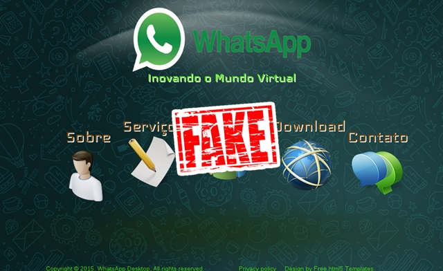 Fake WhatsApp for Web Spams the Internet, heaven for cyber criminals