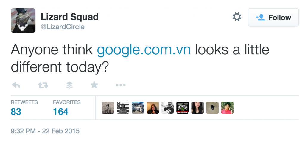 google-vietnam-domain-hacked-by-lizard-squad