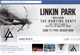 Exclusive: Linkin Park official Facebook Page Hacked! Spammed with adverts