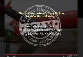 Missing AirAsia Flight QZ8501 �FOUND� Scam on Facebook Delivers Adware