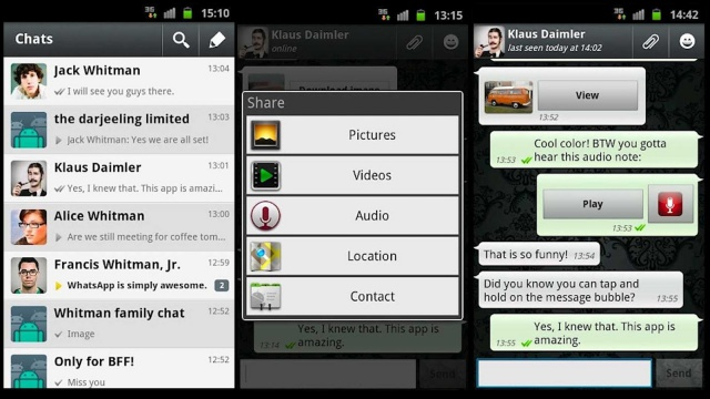 WhatsApp Web has vulnerability that could expose user photos