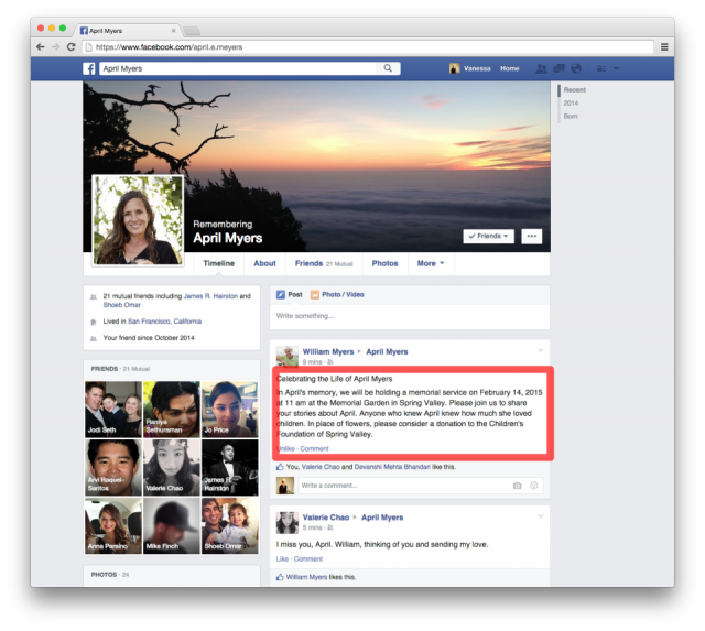 You can now decide what will happen to your Facebook profile when you die