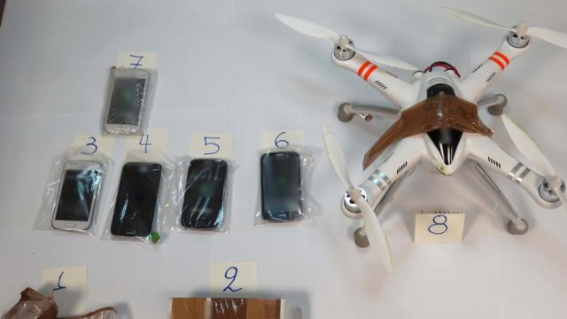 drone-caught-delivering-phones-knife-and-drugs-at-a-high-security-prison