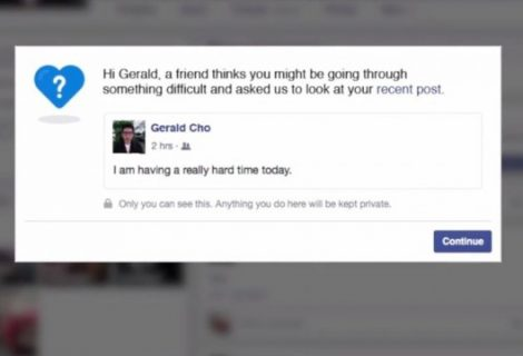 Facebook's New Tool Will Help Users Against Suicidal Thoughts