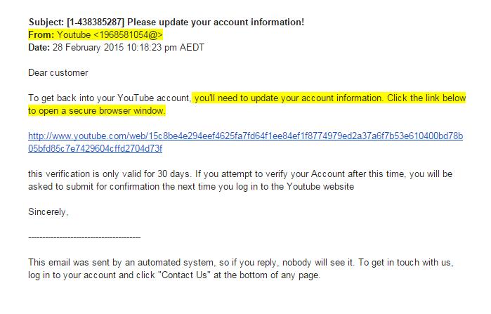 hacking-youtube-account-through-phishing-mails